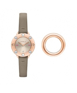 Furla Club 26mm 2h ivory dial beige str