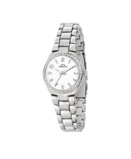 Chronostar Legend 36mm 3h white dial br ss