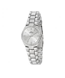 Chronostar Legend 36mm 3h silver dial br ss