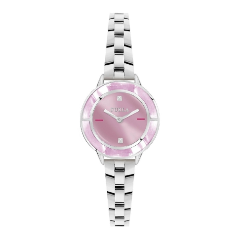Orologio Furla Club donna acciaio / rosa 26 mm