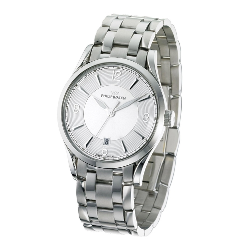 Orologio Philip Watch Sunray 3h uomo acciaio R8253180001