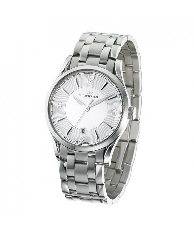 Orologio Philip Watch Sunray 3h uomo acciaio R8253180001 - galleria 1