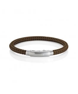 Bracciale Sector Basic soft marrone