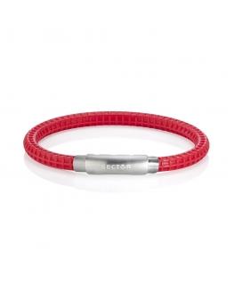 Bracciale Sector Gioielli Basic soft rosso