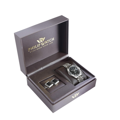 Orologio Philip Watch Caribe 41mm - Special box con gemelli