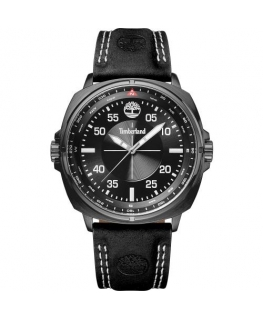Timberland Williston 3h black dial black strap