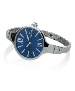 Orologio Hoops Nouveau Cherie donna acciaio / blu