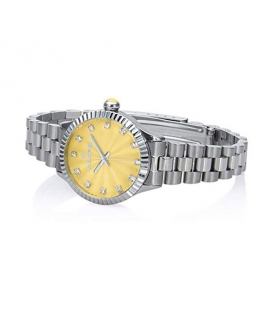 Orologio Hoops Luxury donna acciaio / giallo