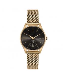 Orologio Gant Lawrence donna acciaio oro / nero