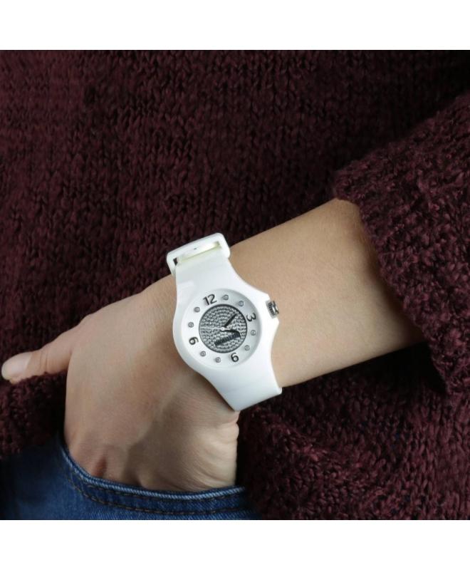 Morellato Colours 3h white diamond d. dial white s - galleria 2