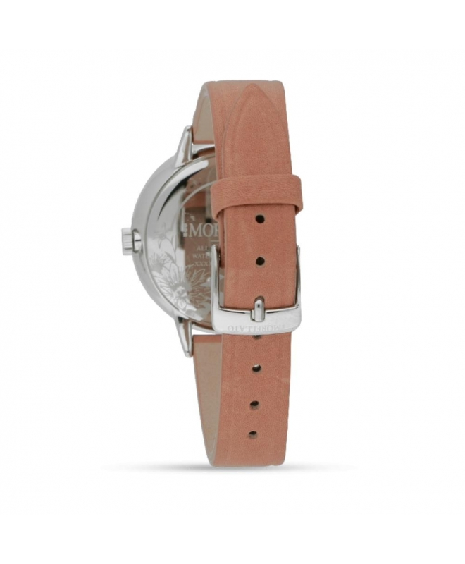 Morellato Ninfa 30mm 2h withe dial brown st donna R0151141502 - galleria 2
