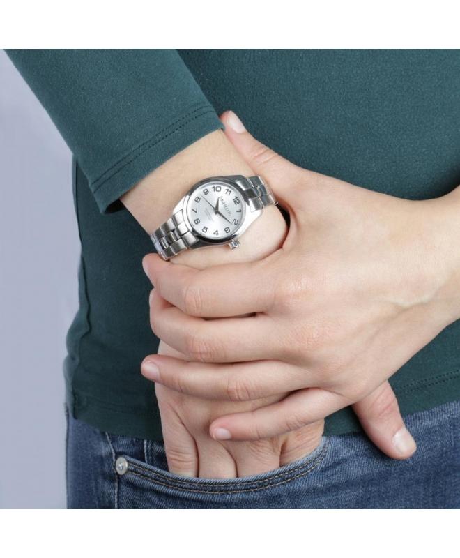 Morellato Posillipo 3h 32mm w/silver dial br ss donna - galleria 3