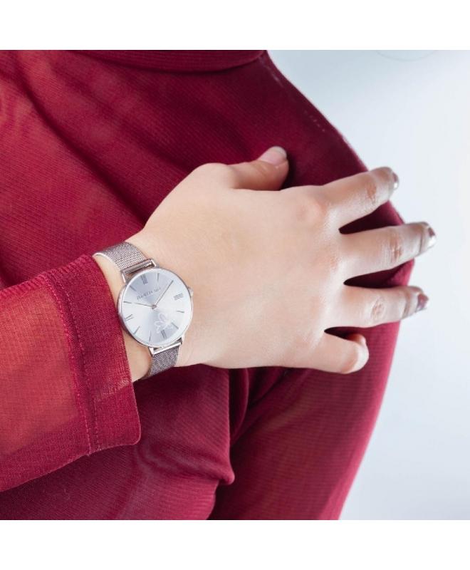 Morellato Ninfa 30mm 2h white dial mesh br ss donna R0153141505 - galleria 3