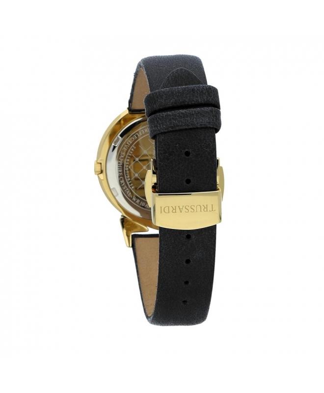 Trussardi Antilia 34mm 3h black dial black strap - galleria 2