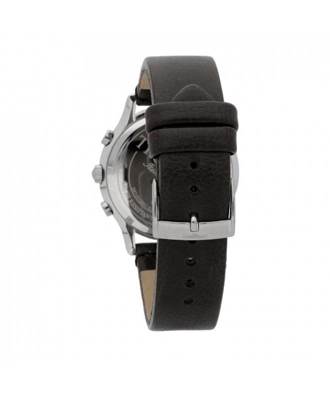 Trussardi Tfirst gent 43mm chr grey dial grey st - galleria 2