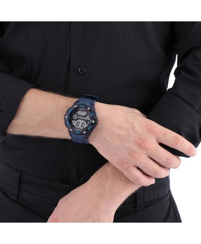 Sector Ex-07 digital grey dial blue strap uomo R3251481002 - galleria 2
