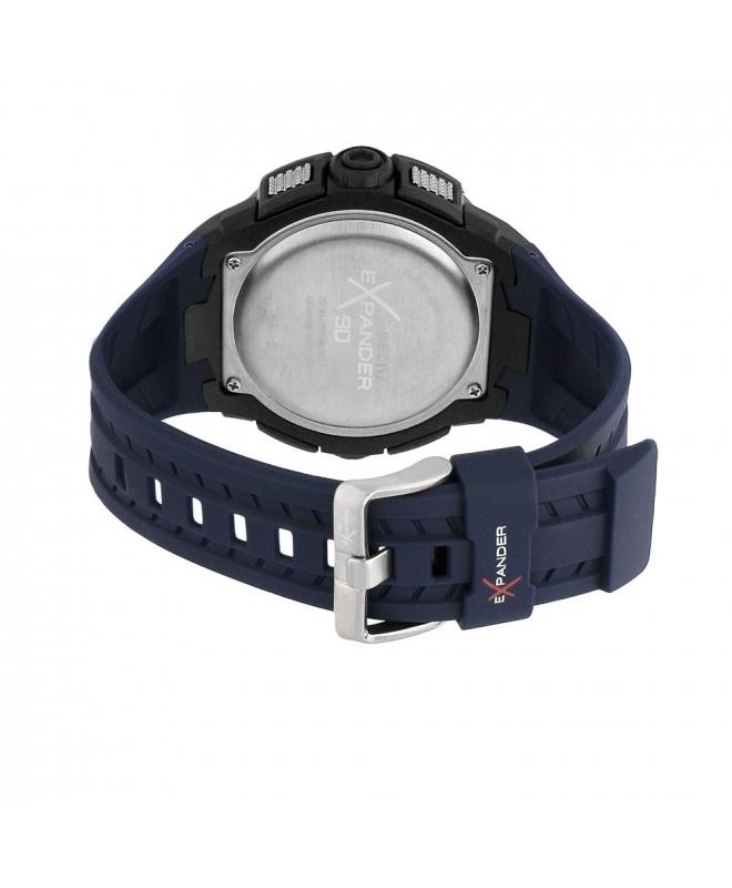 Sector Ex-07 digital grey dial blue strap - galleria 3