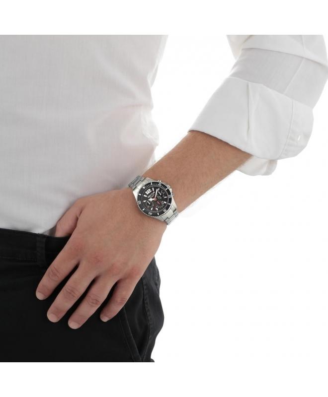 Sector 230 39mm mult black dial bracelet ss uomo R3253161011 - galleria 2