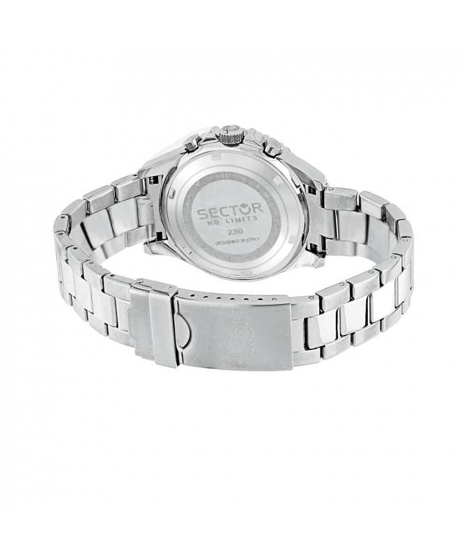 Sector 230 39mm mult black dial bracelet ss uomo R3253161011 - galleria 3