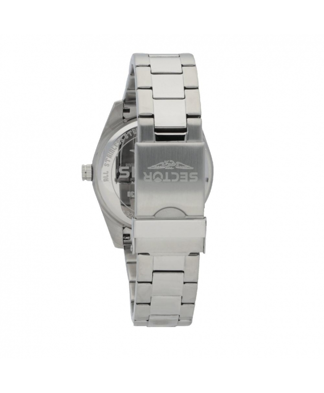 Sector 245 41mm 3h white dial ss br uomo R3253486003 - galleria 2