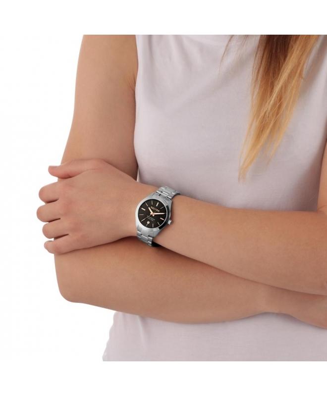 Sector 120 36mm 3h black dial bracelet ss donna R3253588507 - galleria 2
