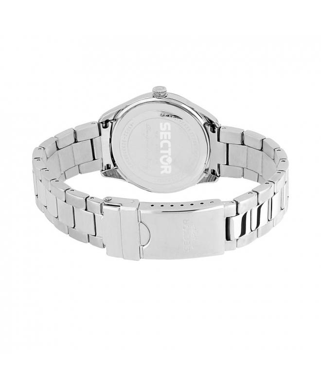 Sector 120 36mm 3h black dial bracelet ss donna R3253588507 - galleria 3