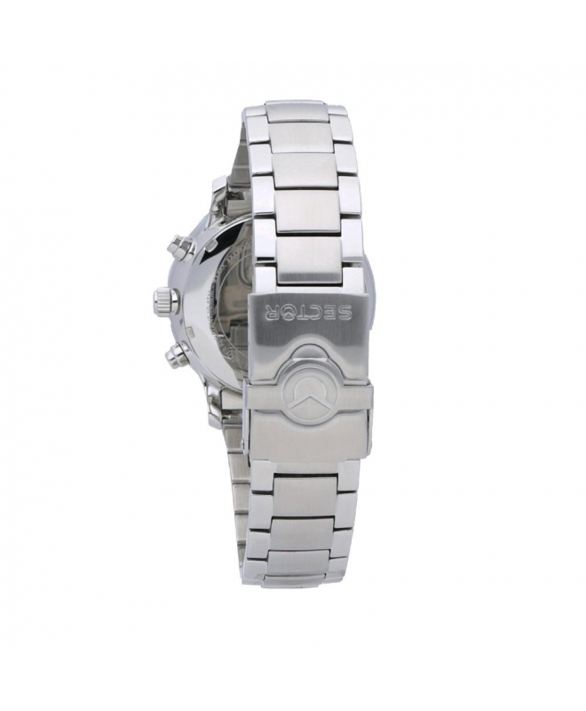 Sector 180 45mm chr silver dial ss br uomo R3273690010 - galleria 2