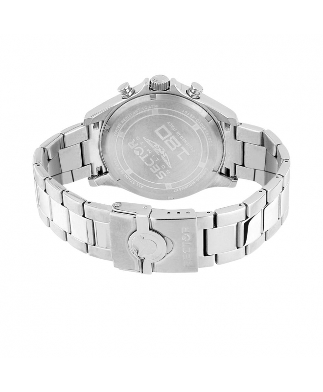 Sector 180 45mm chr silver dial ss br uomo R3273690010 - galleria 3