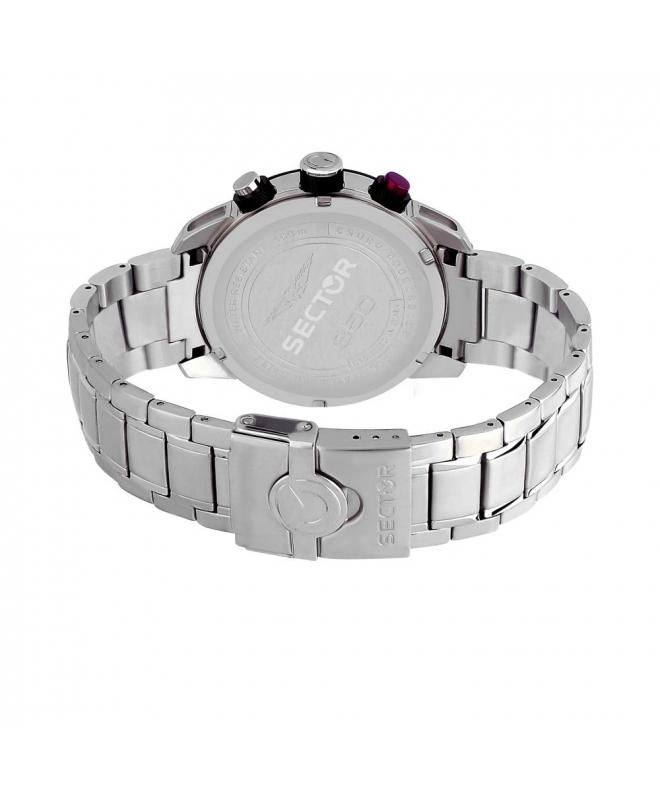 Sector 850 chr black dial bracelet uomo R3273975002 - galleria 3