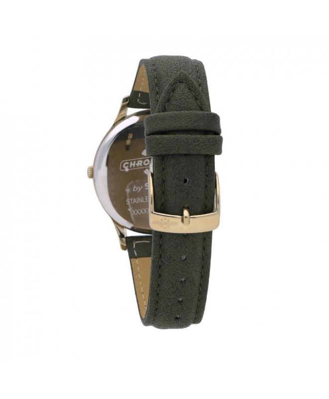 Chronostar Charles gent 39mm 3h green dial green st - galleria 2