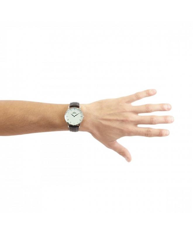 Chronostar Preppy plus 38mm 2h white dial black st - galleria 3