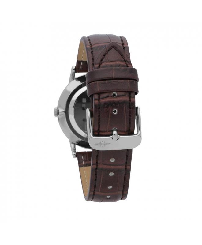 Chronostar Preppy plus 38mm 2h white dial brown st - galleria 2