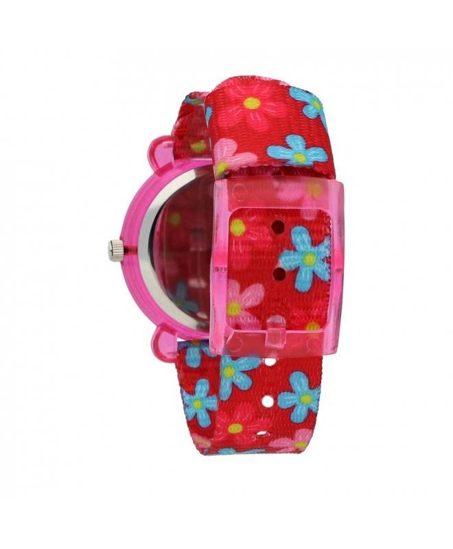 Chronostar Acquerello 31mm pink & flower dial/st - galleria 2