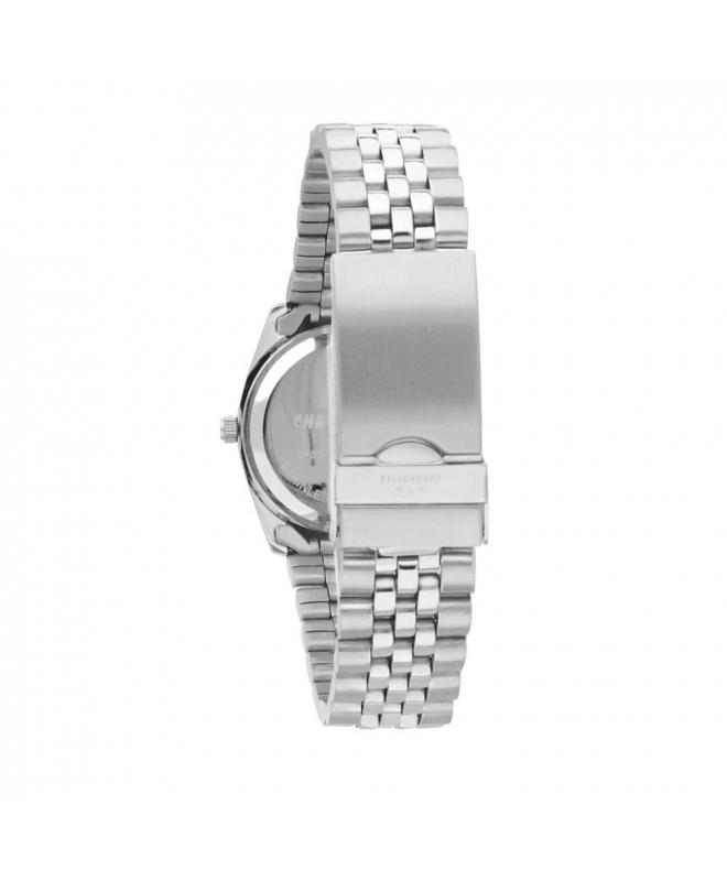 Chronostar Luxury 3h 34mm pink dial br ss - galleria 2