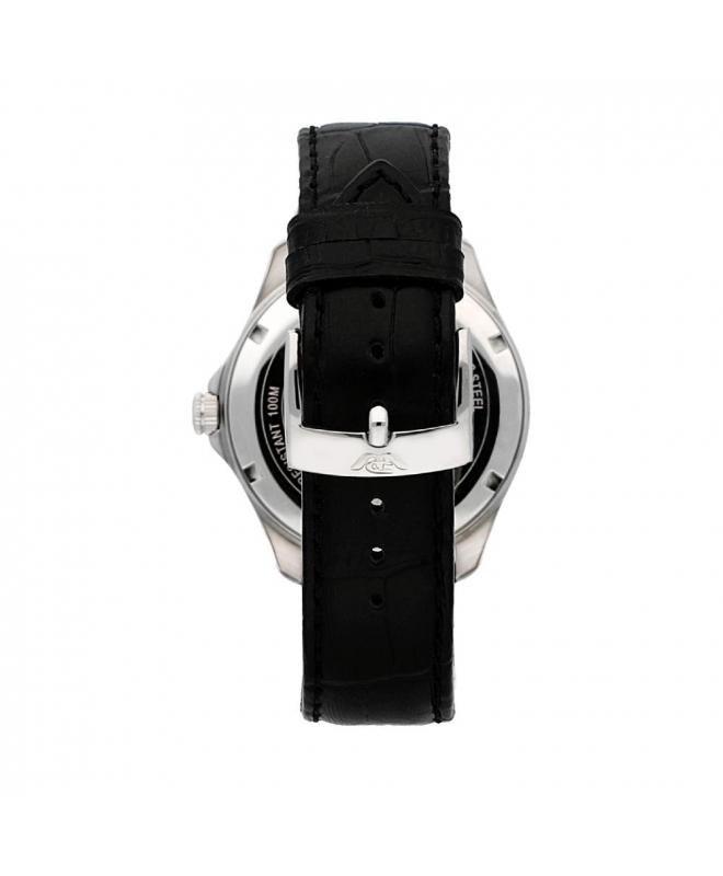 Philip Watch Blaze 3h black dial black strap uomo R8251165001 - galleria 2