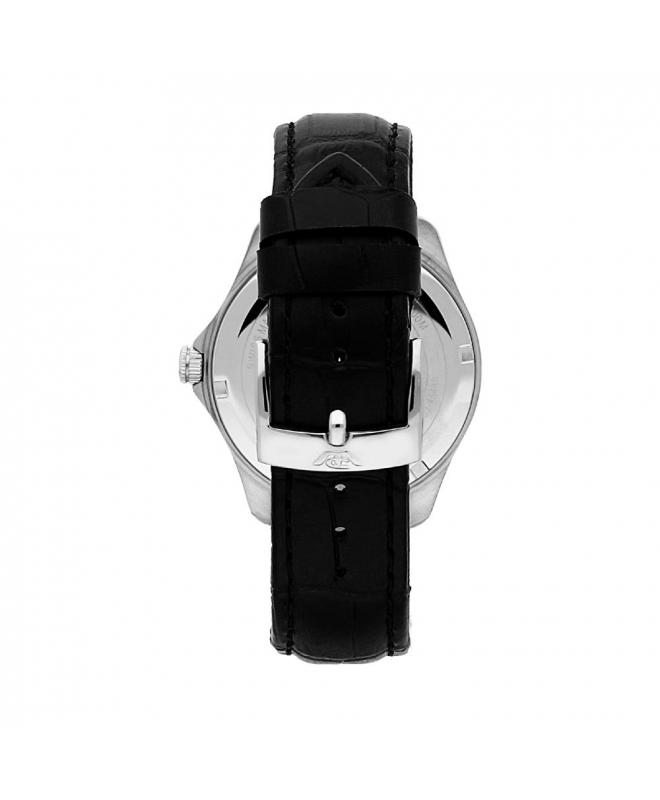 Philip Watch Blaze 41mm 3h ivory dial black strap uomo - galleria 2