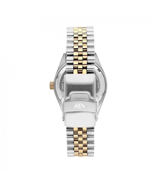 Philip Watch Caribe 3h white silver dial brac uomo R8253107010 - galleria 2