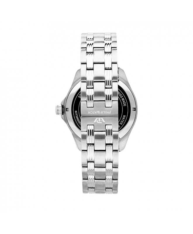 Philip Watch Blaze 3h white matt dial/bracelet uomo R8253165002 - galleria 2