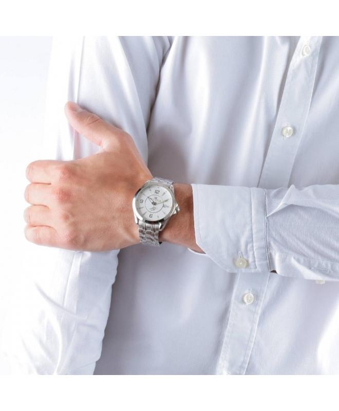Philip Watch Blaze 3h white matt dial/bracelet uomo R8253165002 - galleria 3