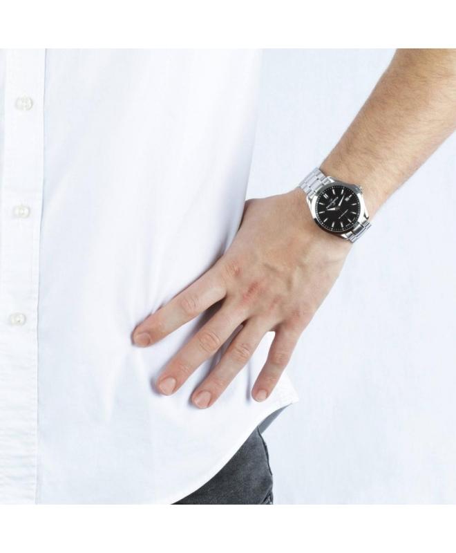 Philip Watch Blaze 3h black dial bracelet uomo R8253165004 - galleria 3