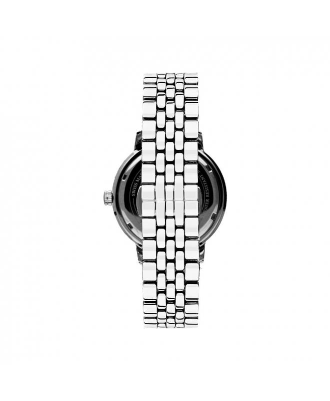 Philip Watch Kent 3h white mattt dial bracelet uomo R8253178005 - galleria 2