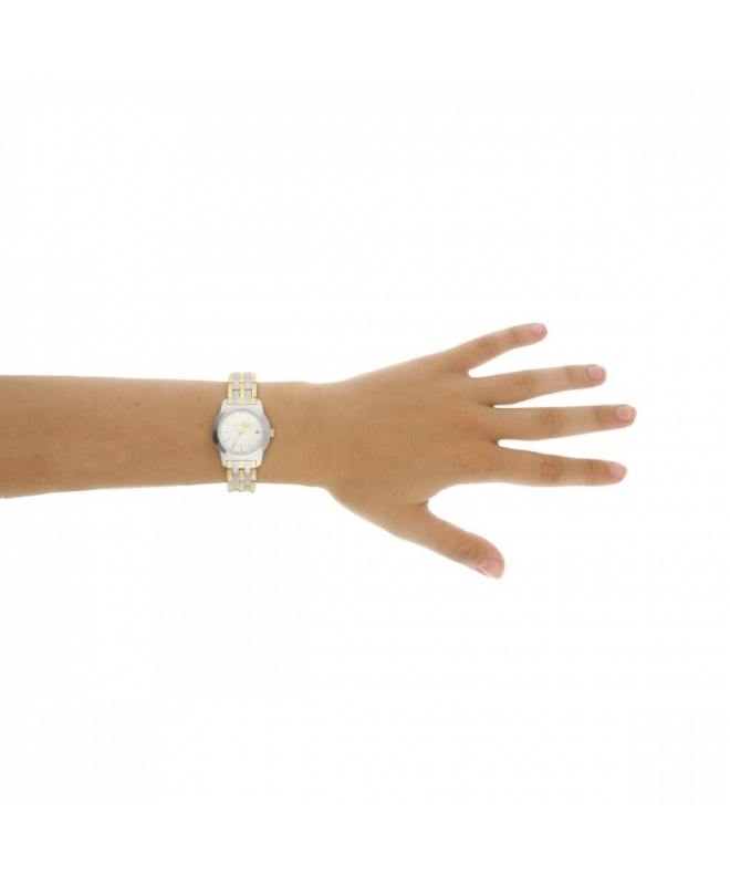 Philip Watch Timeless lady 28mm 3h white dial ss+yg b donna - galleria 3