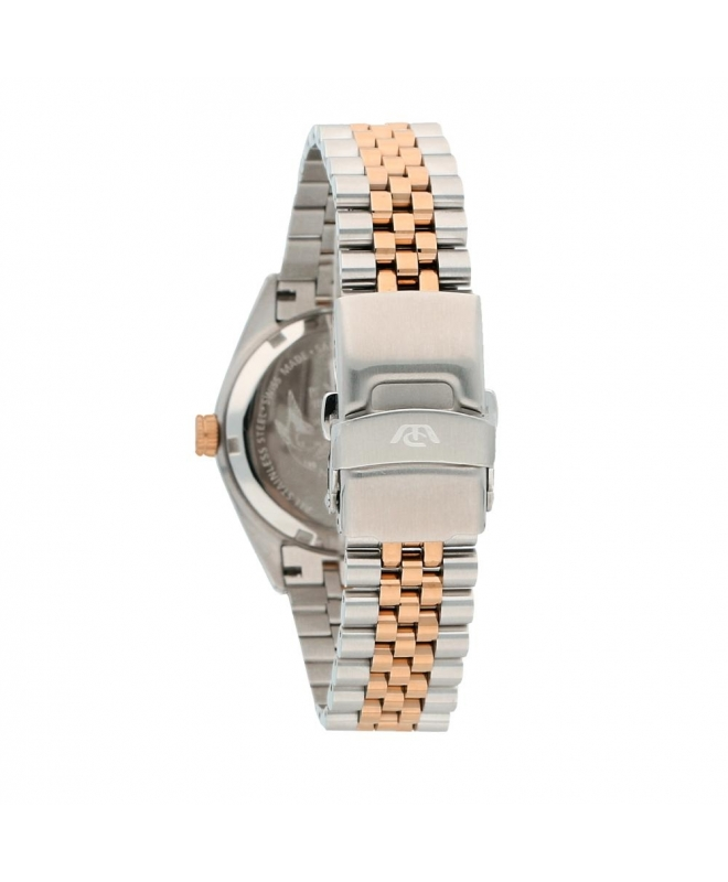 Philip Watch Caribe 39mm 3h brown dial br rg/ss uomo R8253597027 - galleria 2