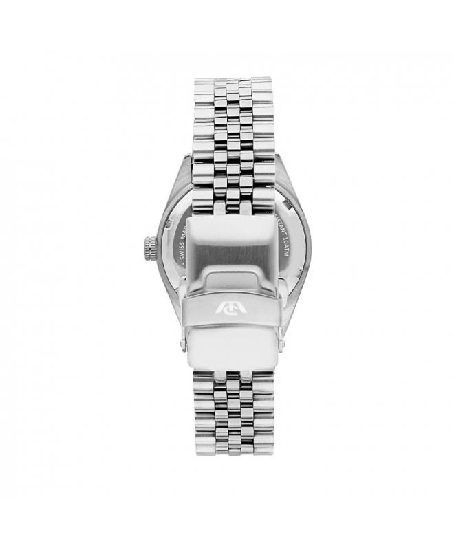 Philip Watch Caribe lady 3h silver/white dial brac donna - galleria 2