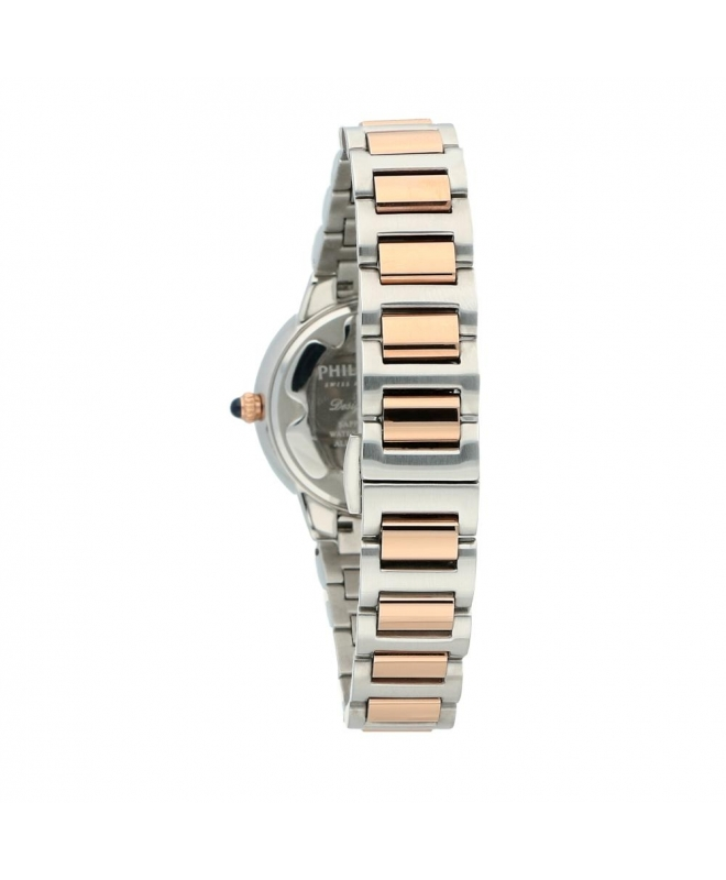 Orologio Philip Watch Corley 34mm bicolore acciaio / oro rosa - galleria 2