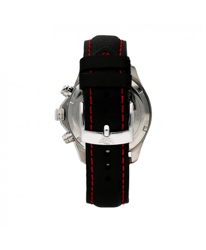 Philip Watch Blaze 41mm chr 6h black dial black strap uomo - galleria 2