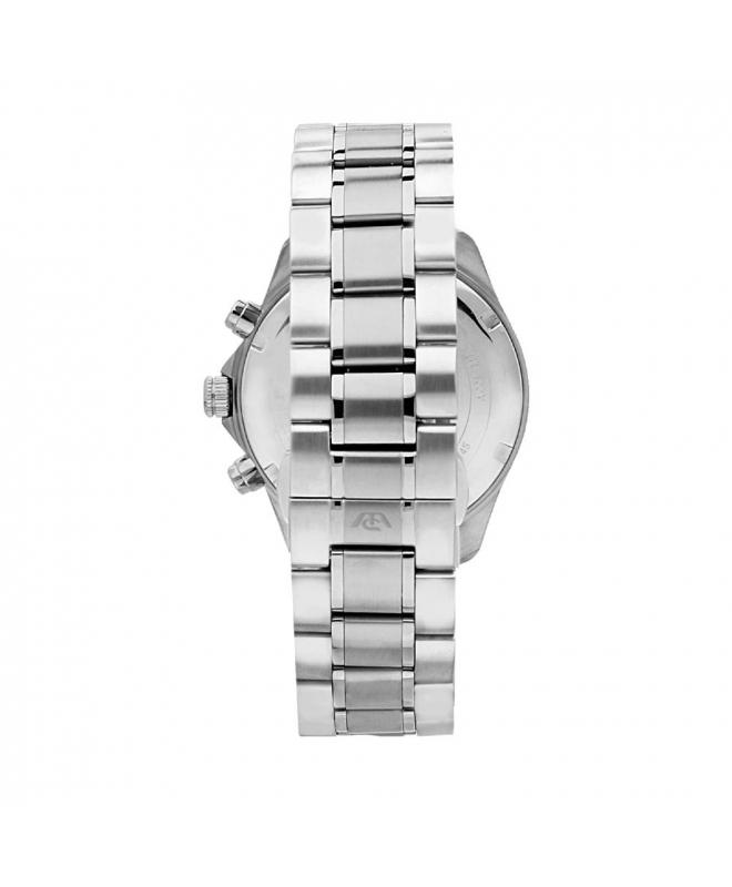 Philip Watch Blaze 41mm chr 6h w/silver dial br ss uomo - galleria 2