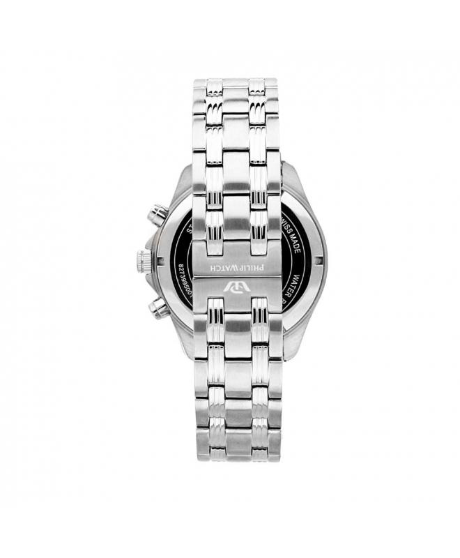 Philip Watch Blaze chr white silver dial bracelet uomo - galleria 2