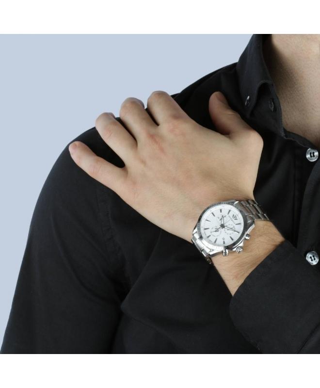 Philip Watch Blaze chr white dial/ bracc. uomo R8273995215 - galleria 3