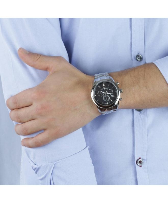 Orologio Philip Watch Seahorse chrono - 44 mm R8273996002 - galleria 2